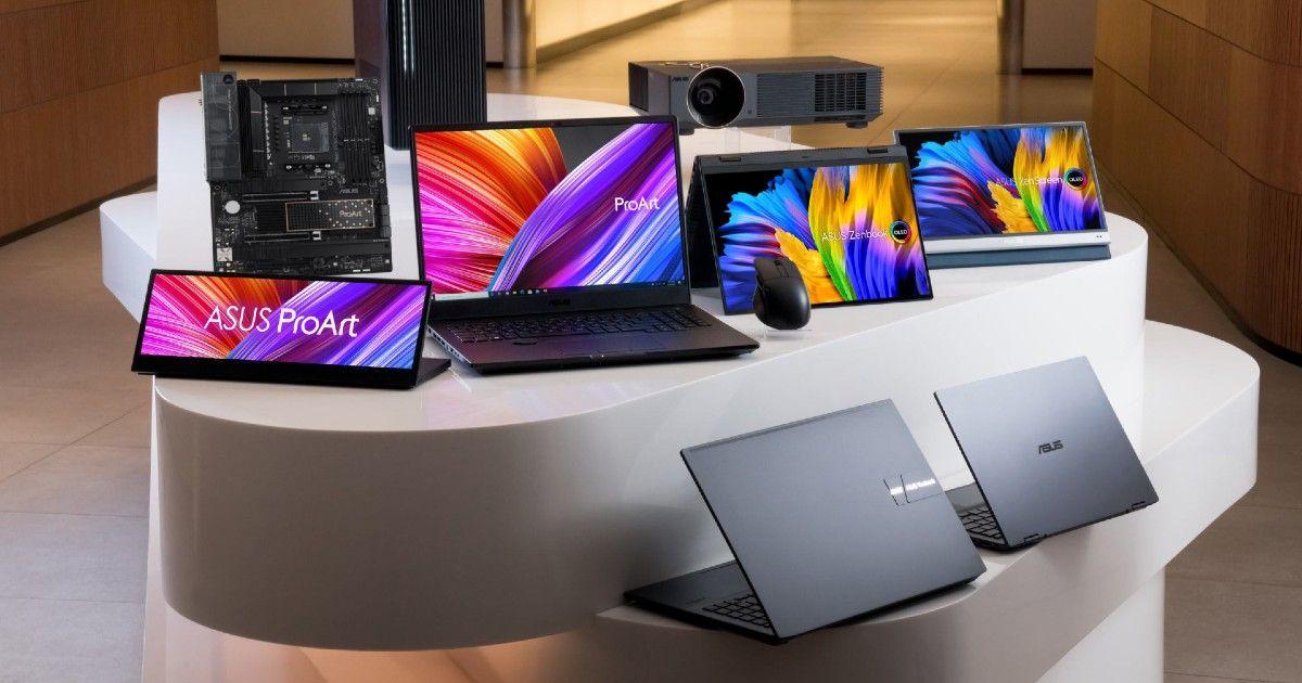 华硕产品推出全新 ProArt、ZenBook Pro 和 VivoBook Pro 笔记本电脑